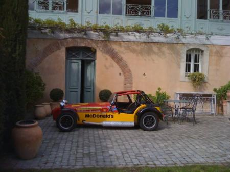 caterham ex cup 2001 d 39 occasion n 19 27500e voitures de course vendre. Black Bedroom Furniture Sets. Home Design Ideas